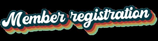Membership Registration